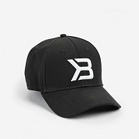 Better Bodies Vyriška Kepurė Baseball Cap Black