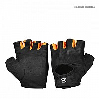 Better Bodies Womens Training Gloves Black/Orange