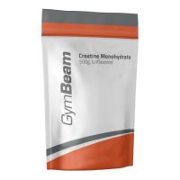 GymBeam 100% Creatine Monohydrate 500g.