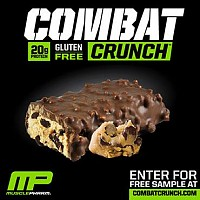 MusclePharm Combat Crunch batonėlis 63gr.