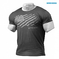 Better Bodies Street Tee wash black